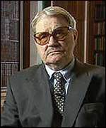 [ image: Russian dissident Vasili Mitrokhin who handed over details to MI5 in 1992]
