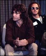 [ image: Jim Morrison's indecent exposure raised �,000]