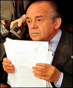 [ image: The President of the Chilean Senate with Gen Pinochet's letter]