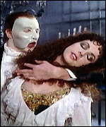 [ image: Phantom duo: Crawford and Sarah Brightman]