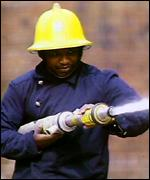 [ image: Black firefighters faced