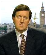[ image: Mandelson was reported to want to replace George Robertson at defence]