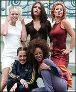 [ image: The Spice Girls nominated for best British video]