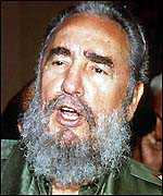 image: [ Once the nemesis of the Church, Fidel Castro wants to warm relations ]