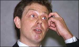 image: [ Blair knew the call was a hoax: 'William Hague never calls meTony' ]