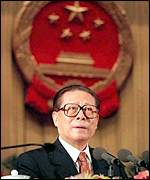 [ image: Jiang Zemin: Centre stage]
