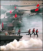 [ image: Chinese war games have failed to persuade Taiwan to re-unite]