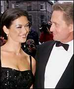 [ image: Catherine Zeta Jones traded in a Blue Peter presenter for Hollywood's Michael Douglas]