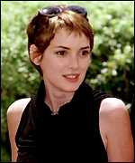[ image: Serial star-dater Winona Ryder: Past loves include Christian Slater and Johnny Depp]