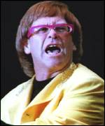 [ image: Elton John, star of his own biopic Tantrums and Tiaras]