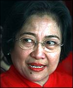 [ image: Megawati: Her democratic credentials are unproven]