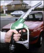 [ image: Prof Begg said there should be less reliance on fuel tax]