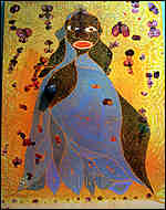[ image: Chris Ofili's The Holy Virgin Mary]