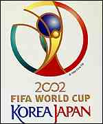 [ image: South Korea is co-hosting the 2002 World Cup]