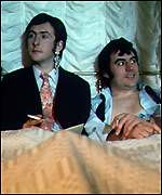 Eric Idle and Terry Jones