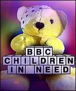 [ image: The BBC's Children In Need is one of the charities which will benefit]