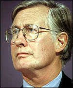 [ image: Environment Minister Michael Meacher told the meeting he had a second home himself]
