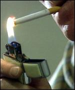 [ image: Teenagers aged between 16 and 18 can smoke, but not buy refills for their lighters]