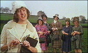 Eric Idle and Python team