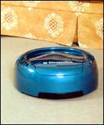 [ image: An Electrolux prototype of a robotic vacuum cleaner]