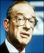 [ image: Alan Greenspan is credited with managing the longest boom in US history]