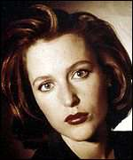 [ image: X-Files star Gillian Anderson backs Afghan women's rights]