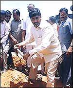[ image: Mr Naidu has championed empowerment of the poor]