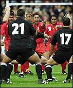 [ image: The authorities want no repeat of last weekend's All Black's vs Tonga showdown]