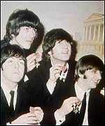 [ image: Guyler's co-stars in A Hard Day's Night]