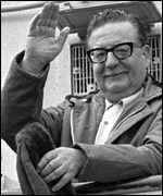 [ image: Salvador Allende: The US was nervous about his Marxist rule]