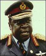 [ image: Idi Amin began a 15-year human rights' nightmare in Uganda]