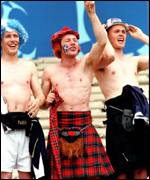 [ image: Scotland fans revelled in their trips to Wembley]