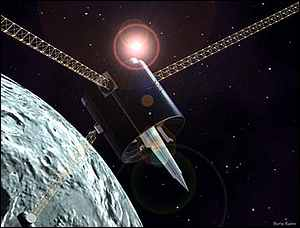 lunar prospector spacecraft - photo #15