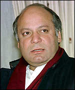 [ image: Nawaz Sharif: Whereabouts uncertain]