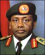 [ image: General Abacha: Annulled elections]
