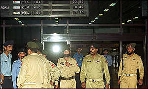 Image result for Musharraf plane landed in karachi