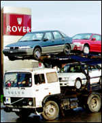 [ image: Rover buys most components within the UK]