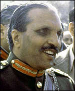 [ image: General Zia: Was in power for 11 years]