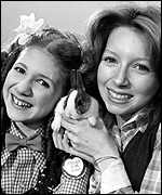 [ image: Bonnie Langford and Lena met at stage school]