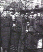 [ image: Prisoners in Auschwitz: The aim of the remembrance day would be to help ensure such events never happen again]