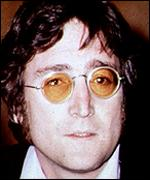 [ image: John Lennon lost his life to a crazed stalker]