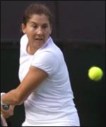 [ image: Monica Seles: Forced off the tennis circuit after being stabbed]