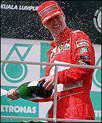 [ image: Eddie Irvine: From glory to ignominy within hours]