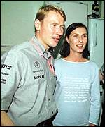 [ image: Mike Hakkinen: The provisional driver's champion]