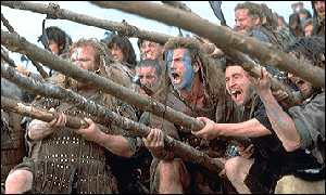 Braveheart battle scene