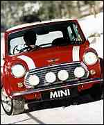 [ image: The Mini Cooper has cult status]