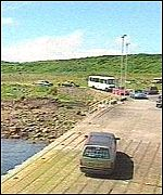 [ image: Access to and from Cumbrae is by ferry]