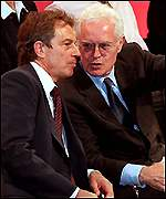 PMs Tony Blair and Lionel Jospin