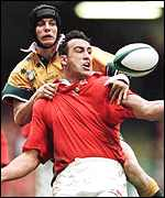 [ image: Wales fired well in the lineout]