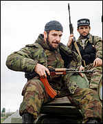 [ image: Chechen fighters are strengthening positions]